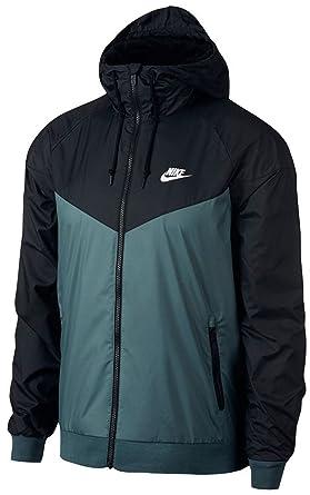 8be41af64fff Men s Nike Sportswear Windrunner Jacket Iced Jade Black Black White ...
