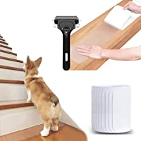 """30"""" x 6"""" Clear Stair Treads Non Slip (15-Pack), Anti Slip Tapes Adhesive for Steps Indoor (30"""" x 6"""")"""