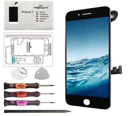 qualità stili di moda miglior sito web Trop Saint® Vetro Schermo Nero Compatibile con iPhone 7 Ricambio ...