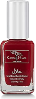 product image for Karma Halal Certified Nail Polish- Truly Breathable Cruelty Free and Vegan - Oxygen Permeable Wudu Friendly Nail Enamel (SARAH)