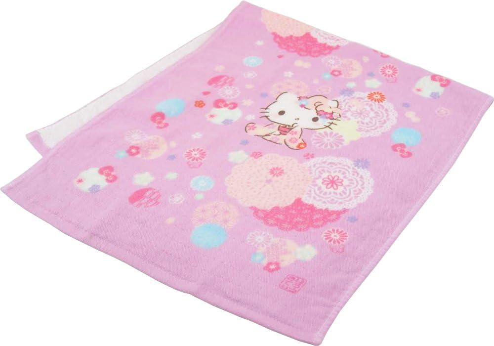 3 Piece Hello Kitty Terry Hand Towel Set 34 x 80 cm