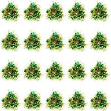Cheer Poms Wrist Flowers Elastic Cheerleading Kit Beautiful Dance Decoration 7 Colors ( Color : Green )
