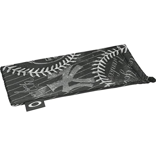 8c719cb9114 Image Unavailable. Image not available for. Color  Oakley Microbag Retail  Sunglass Accessories - NY Yankees Black One Size