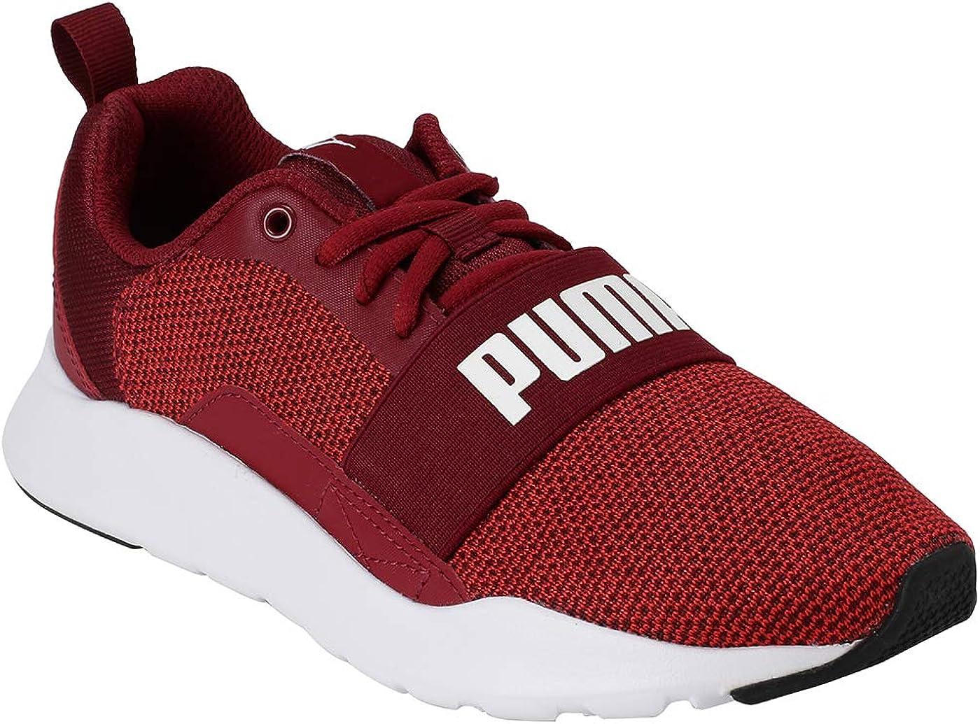 Puma Wired Knit- Zapatilla Casual para niños: Amazon.es: Zapatos y complementos