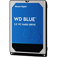 Western Digital Blue 500GB Mobile Hard Disk Drive - 5400 RPM SATA 6 Gb/s 7.0 MM 2.5 Inch – WD5000LPCX