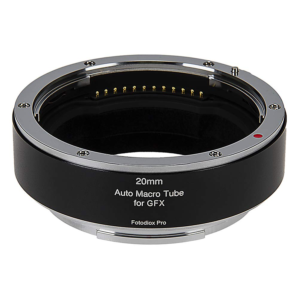Fotodiox Pro Automatic Macro Extension Tube, 20mm Section - for Fuji G-Mount GFX Mirrorless Cameras for Extreme Close-up Photography by Fotodiox