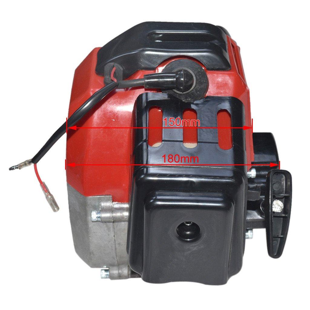 JCMOTO Complete 49cc 2 Stroke Engine Motor for Mini Pocket Bike Gas