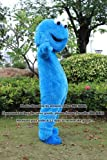 Sesame Street Cookie Monster Mascot Costume Fancy Dress Halloween Suit !