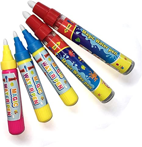 5pcs Water Drawing Painting Pens Replacement Doodle Magic Pens For Drawing Mat Colouring Pens Markers Amazon Canada