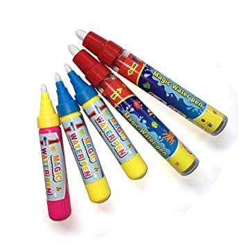 Amazon.com: 5Pcs Water Drawing Painting Pens,Replacement Water ...