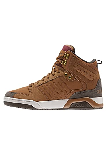 timeless design 6f3b0 8cb16 adidas BB9TIS Winter Mid Sneaker Brown Size  12 UK