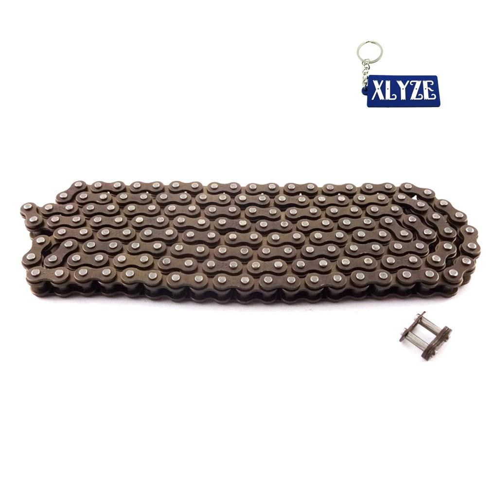 XLYZE 25H 158 Links Chain With Spare Link For 47cc 49cc Mini Dirt ATV Pocket Bike Moto