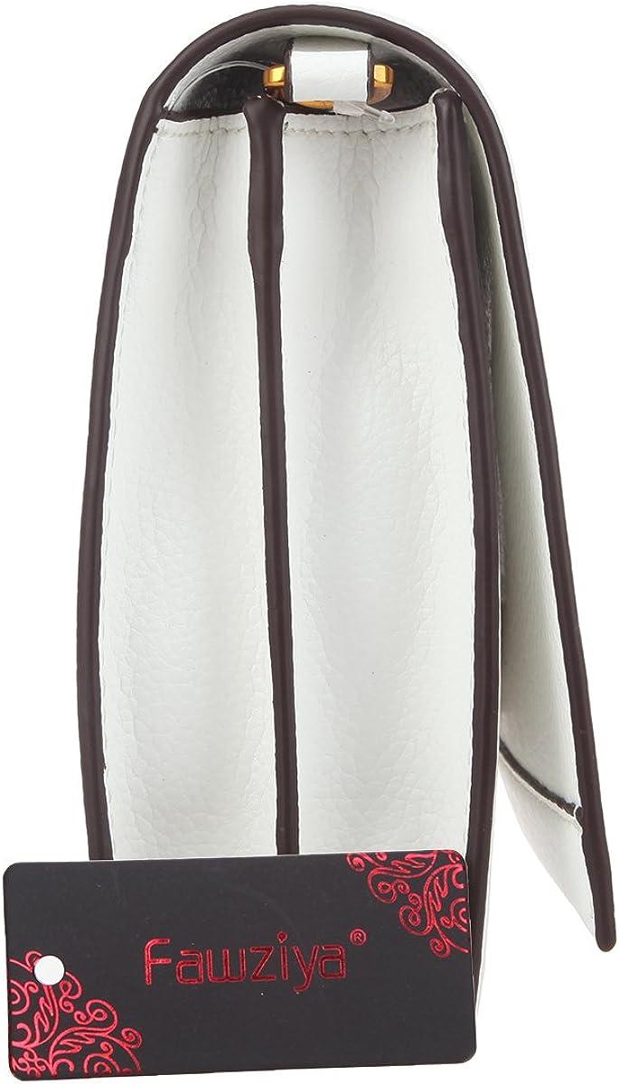 Fawziya Bags Rose Evening Clutches For Women Formal Crossbody Purse Strap