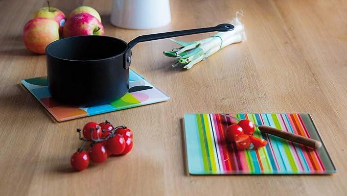 Plateau En Verre Solena Cuisine Maison Plats Smael Co Id