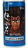 青森県りんごジュース シャイニーアップルジュース 青のねぶたりんごジュース 190g×30個