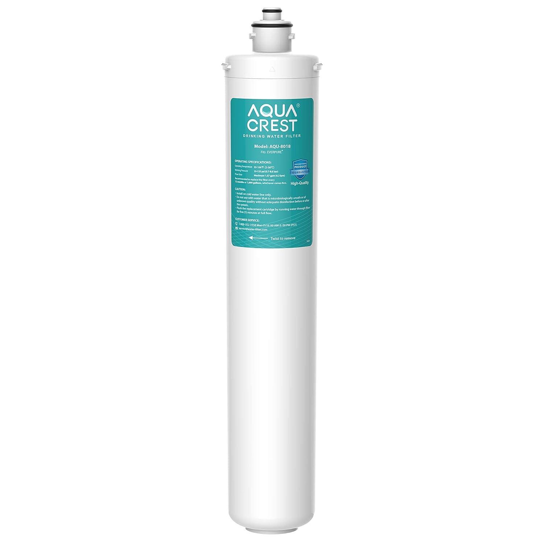 AQUA CREST H-300 Under Sink Water Filter, Replacement Cartridge for Everpure H-300, H-1200, 7CB5, EF-6000, EV9270-71, EV9270-72, EV9282-01, EV9618-11, EV9855-50