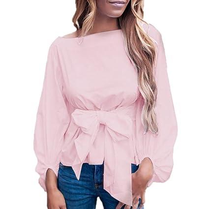 Ropa se Mujer Invierno, 💕 Zolimx Mujeres Vendaje de Moda Tops Camisetas 2018 Elegante de