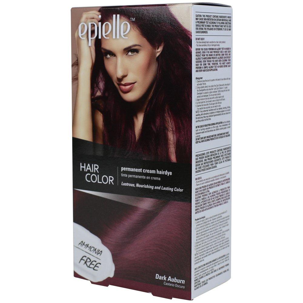 Amazon Kareway Epielle Hair Color For Women Dark Auburn Pack
