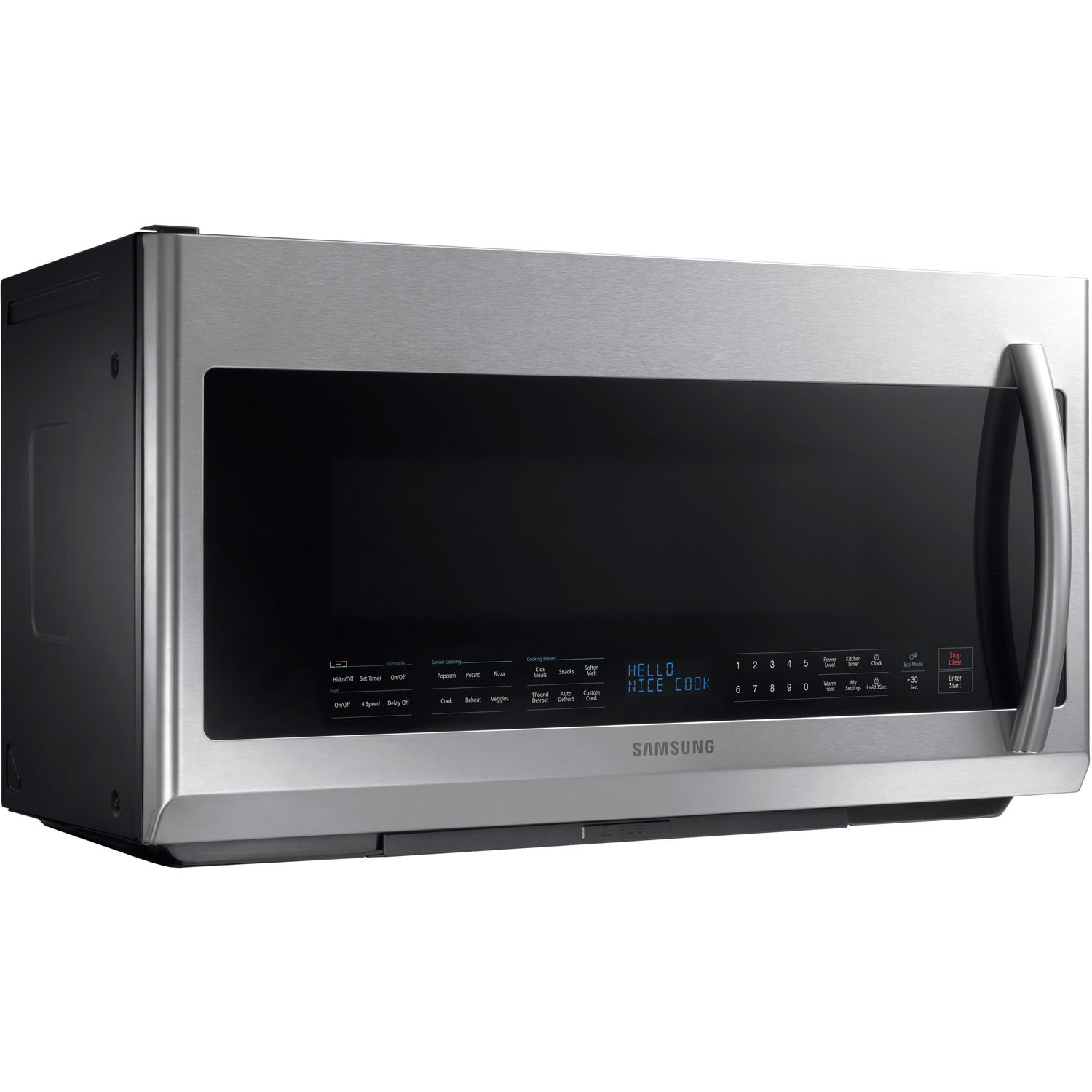 Samsung ME21F707Over-The-Range Microwave, 2.1 Cubic Feet