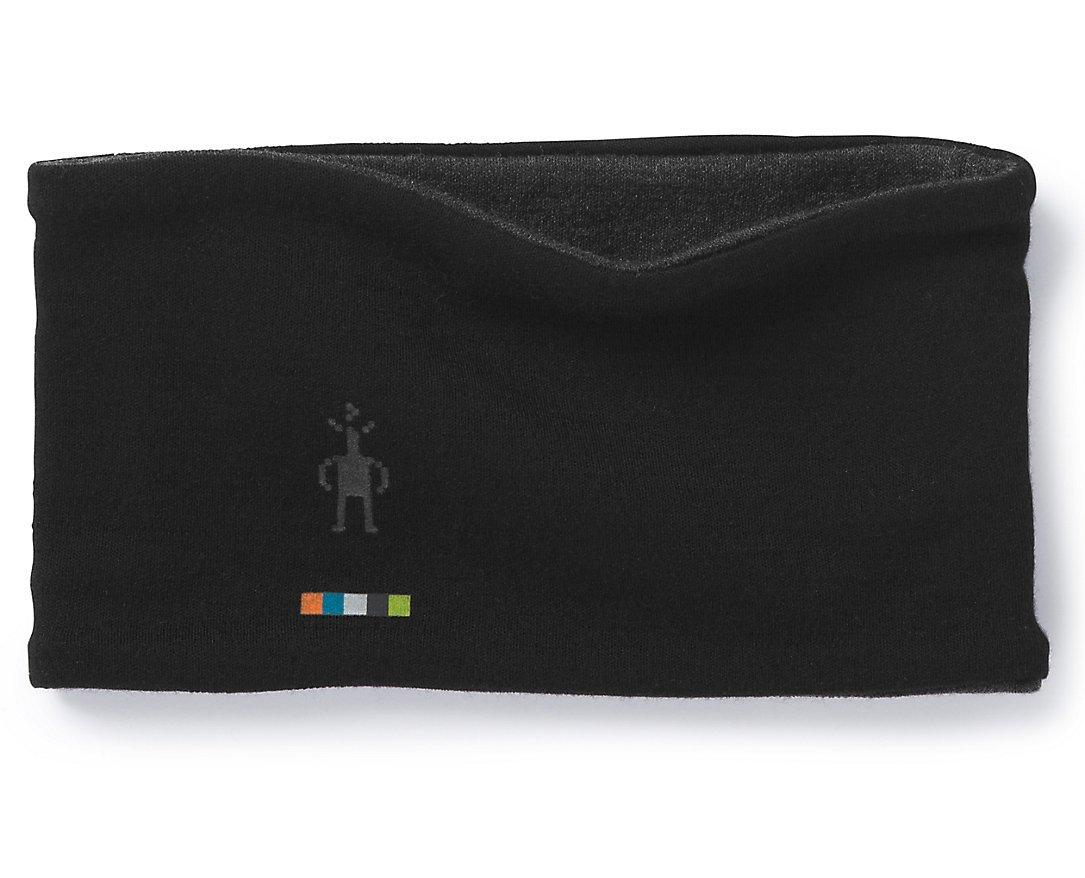 Smartwool Merino 250 Reversible Headband Black-Charcoal Heather 1FM