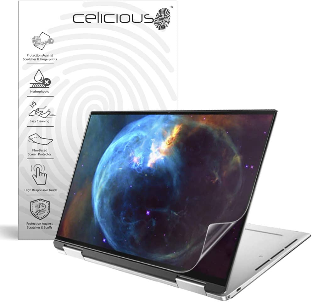 Celicious Impact Anti-Shock Shatterproof Screen Protector Film Compatible with Dell XPS 13 7390 (2-in-1)