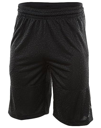 fb7285b102f Image Unavailable. Image not available for. Color: NIKE Mens Jordan  Elephant Print Basketball Shorts Black/Black ...