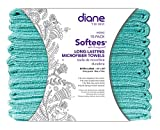 Softees Towels with Duraguard, Aqua, 10-Pack