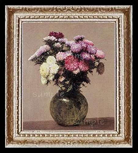 Still Life Floral  Miniature Dollhouse  Picture