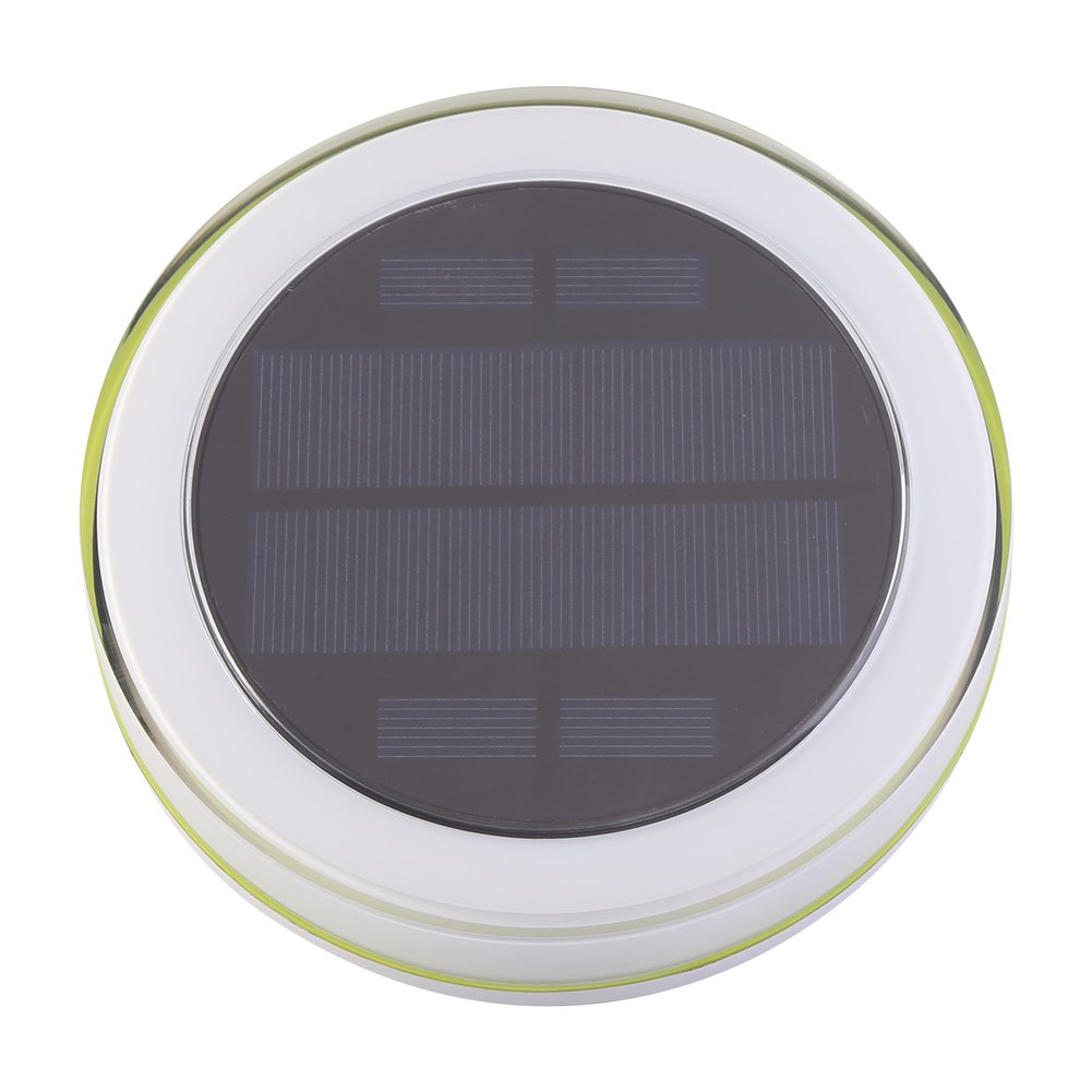 Zerodis LED Solar Waterproof RGB Lamp Pond Swimming Pool Floating Fountain Light with Remote Control