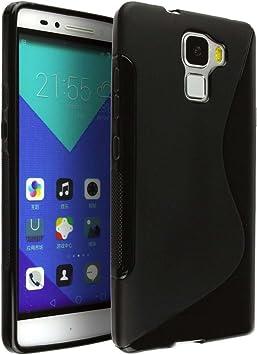 Huawei Honor 7 Carcasa Huawei Honor 7 Antideslizante Carcasa TPU ...