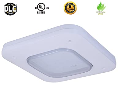 LED Flying Direct 150w LED Canopy Light Gas Station L& Commercial Lighting Celling Light SLK-  sc 1 st  Amazon.com & LED Flying Direct 150w LED Canopy Light Gas Station Lamp ...