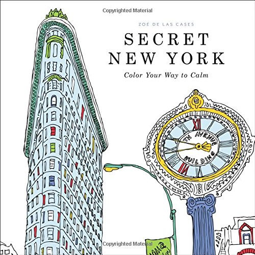 (Secret New York: Color Your Way to)