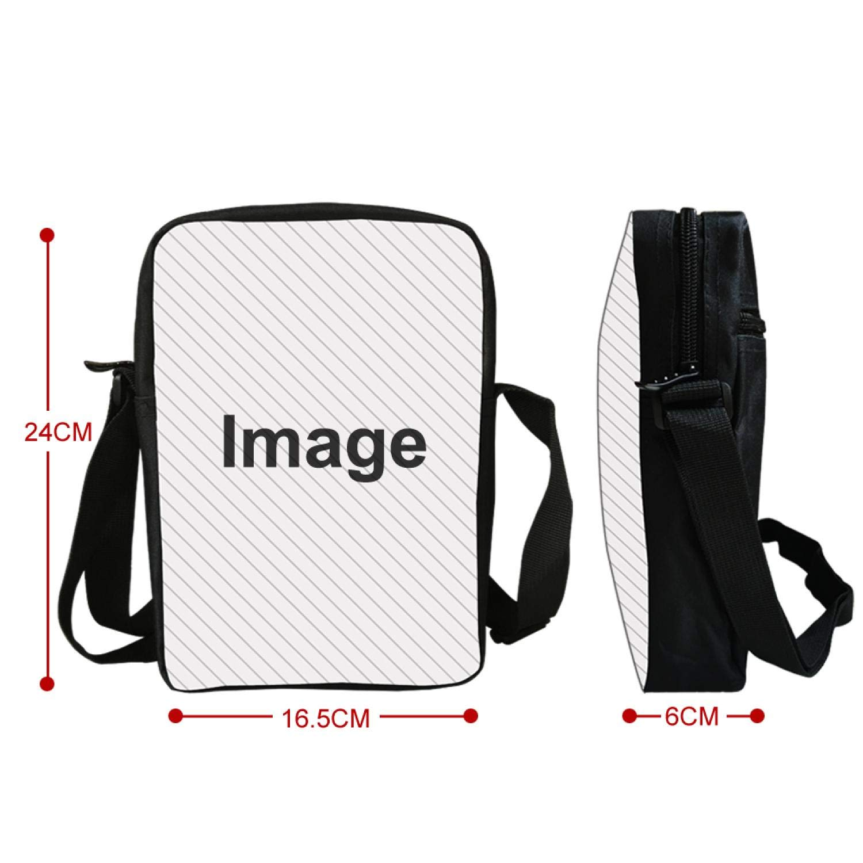 Men Messenger Bag Casual Animal Prints Lion Shoulder Bag Girls Cross Body Bags for Women Child Small School Bags Boys,7S904