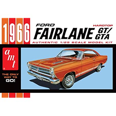 AMT 1091 1966 Ford Fairlane GT/GTA1:25 Scale Plastic Model Kit Requires Assembly.: Toys & Games