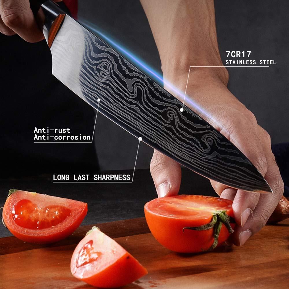 Kitchen Knife DABOWEN DANDAO-sfsdhf-01 by AUIIKIY (Image #4)