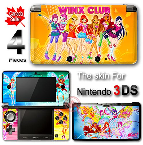 (Winx Club SKIN STICKER DECAL COVER for Nintendo 3DS)