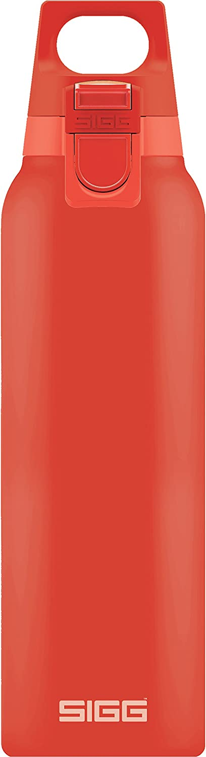 SIGG Hot & Cold ONE Red, Vacuum-Insulated Thermo-Bottle, Stainless Steel, BPA Free - 17oz