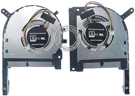 HuiHan CPU /& GPU Cooling Fan Fit ASUS Strix TUF 6 FX505 FX505G FX505GE FX505GD Series