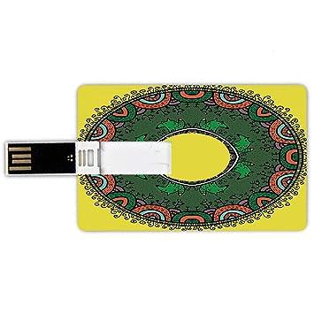 64GB Forma de tarjeta de crédito de unidades flash USB Mandala ...