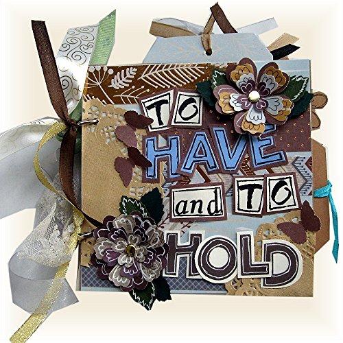 Wedding Album, Wedding Shower, Wedding Gift, Romantic Album, Shower Gift, Engagement Photos, Brown, Blue, Beige, Anniversary Gift, Dating