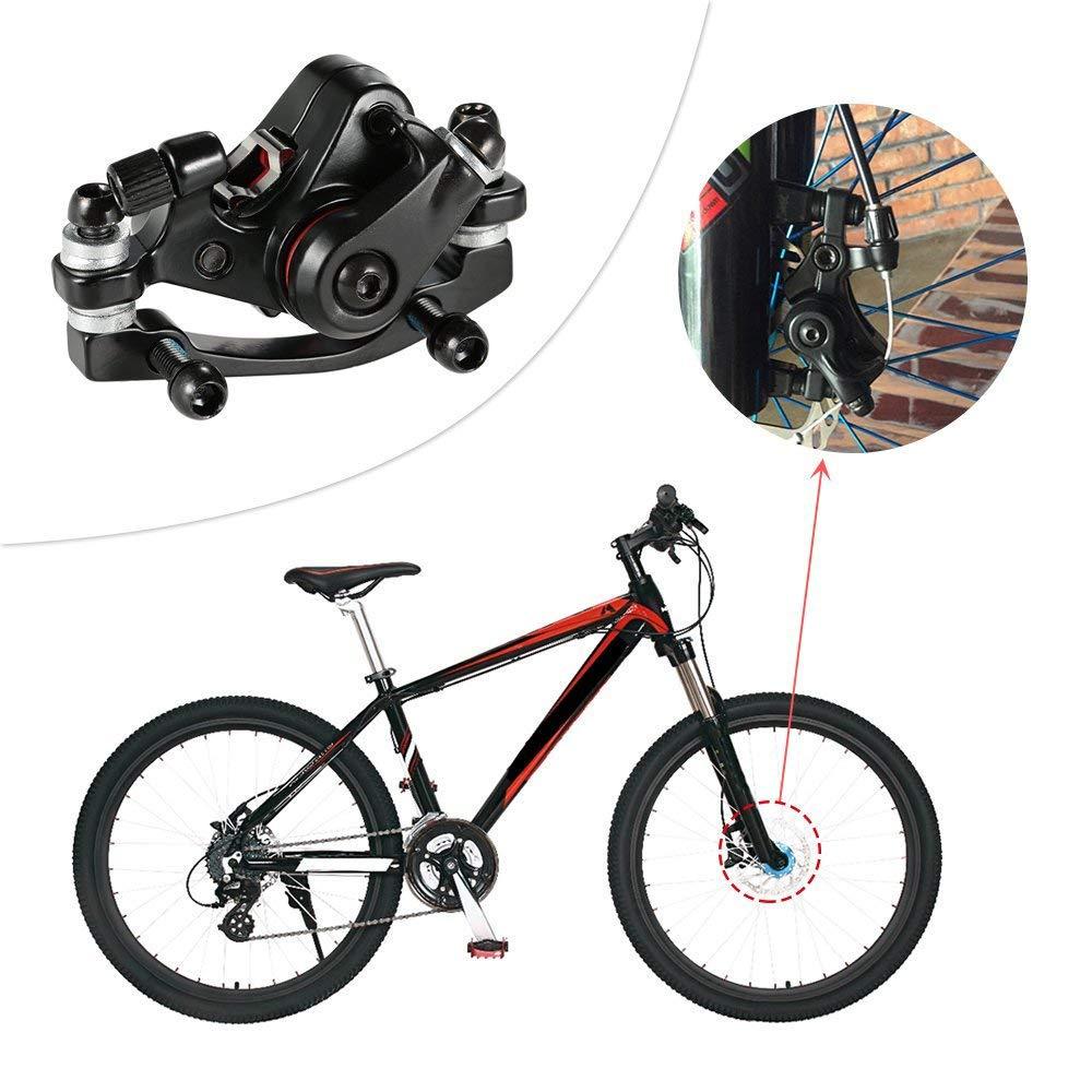 Freno de Disco mec/ánico para Bicicleta Xrten Pinza para Freno Delantero