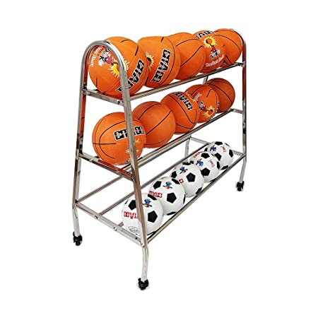 Estante de la Pelota, Almacenamiento de baloncesto de acero ...