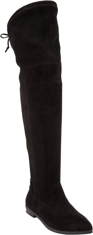 Comfortview Women's Wide Width The Cameron Wide Calf Boot
