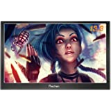 Prechen,Portable HDMI Monitor 13.3 inch 1920x1080HDMI VGA Gaming Monitor for PS3 PS4 WiiU Xbox360 Raspberry Pi 3 2 1 Windows 7 8 10 System Home Office,Build in Speaker