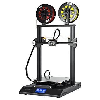Creality 3D CR-X Dual Extruder Touch Screen 3D Printer 300x300x400MM with 2kg PLA Filament