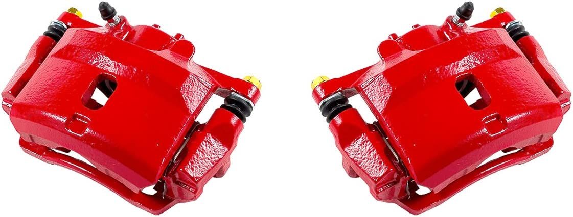 FRONT Performance Red Powder Coated Semi-Loaded Caliper Assembly DX LX HX 2 CK00354