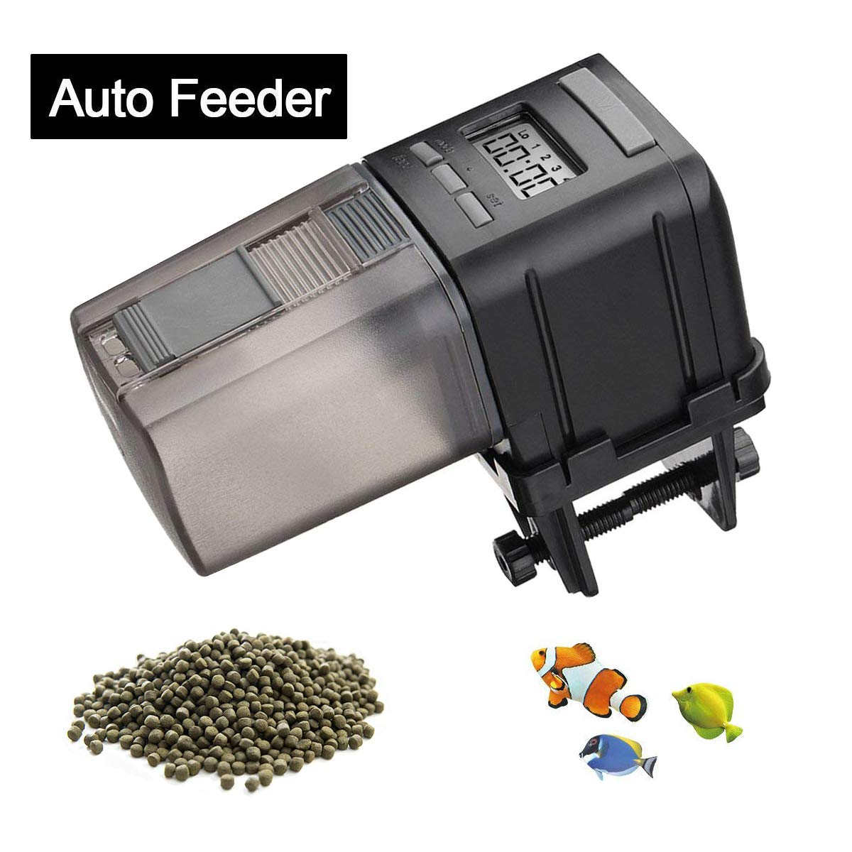 JoyMall Automatic Fish Food Feeder,Auto
