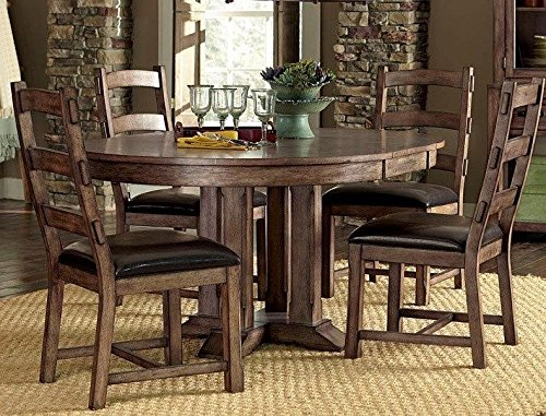 Progressive Furniture P849-10B/10T Boulder Creek Dining Complete Table Boulder CreekCollection