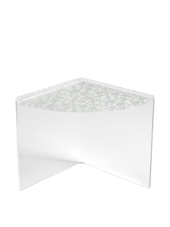 Emporium Table de centre Cake Blanc cassé