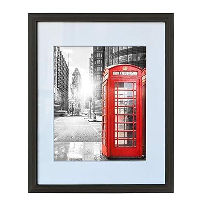 Amazoncom Artsay 11x14 Picture Frame Black Display 8x10 Photos